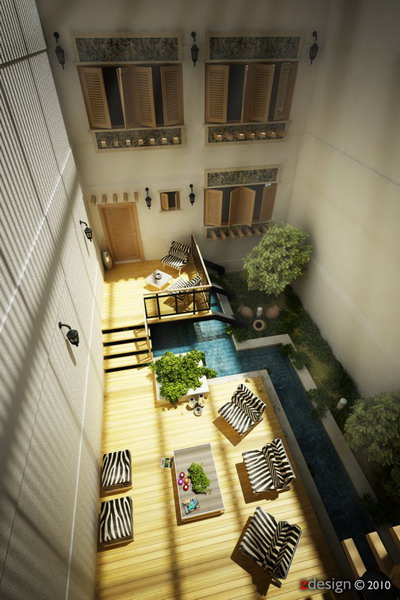Central-courtyard-ideas-aerial-view-of-design-582x872