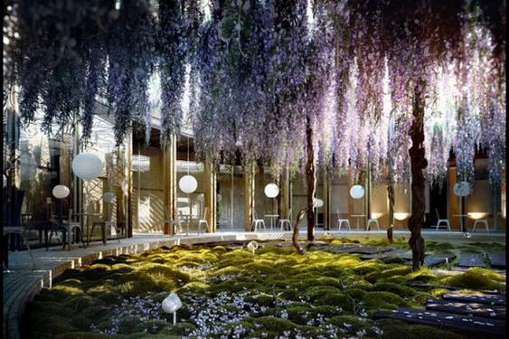 Enchanted-Courtyard-and-Garden-designs-582x413