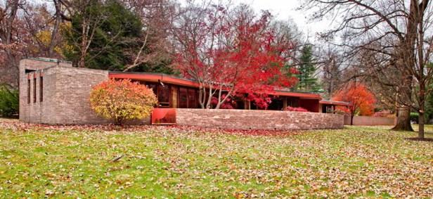 Kenneth Lauren House by Frank Lloyd Wright 01