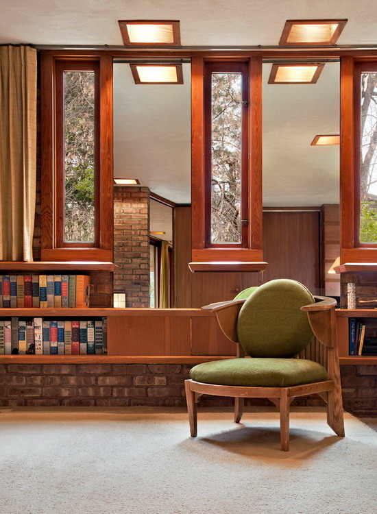 Kenneth Lauren House by Frank Lloyd Wright 04