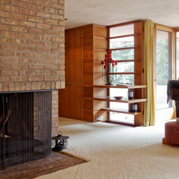 Kenneth Lauren House by Frank Lloyd Wright 10
