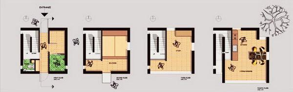 Building Plans For 4x4 : Classic nhà phố m ở kobe nhật bản tadao ando