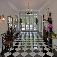 Sàn nhà đẹp với gạch Ca-rô