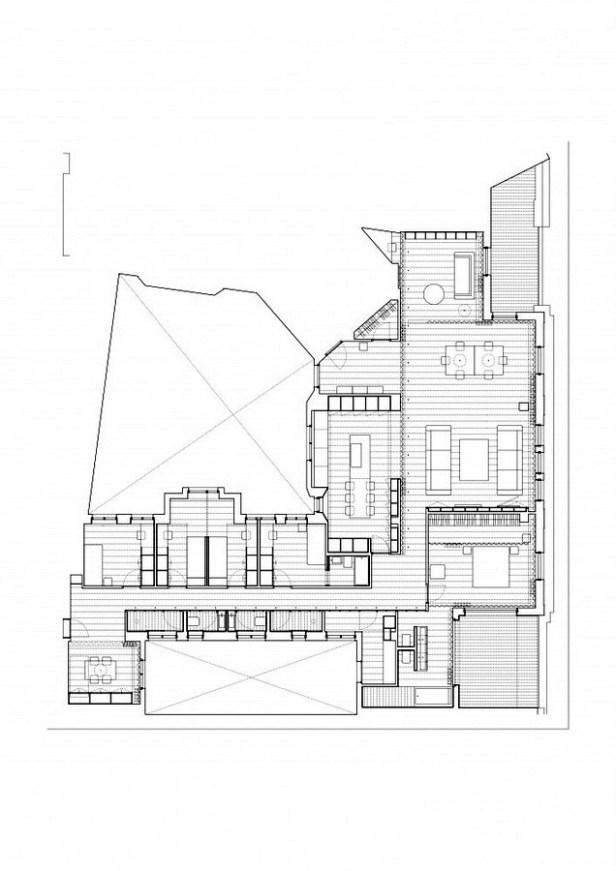 House A _ Vaillo & Irigaray + Beguiristain - planta