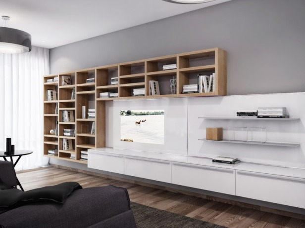 white-entertainment-wall-unit
