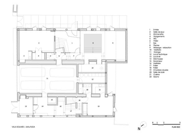 Villa Solaire by Jérémie Koempgen Architectects (JKA) + FUGA 025