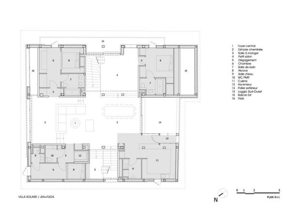 Villa Solaire by Jérémie Koempgen Architectects (JKA) + FUGA 026