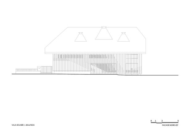 Villa Solaire by Jérémie Koempgen Architectects (JKA) + FUGA 028