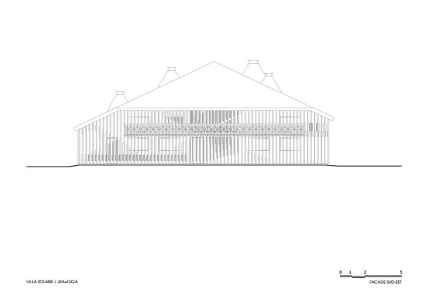 Villa Solaire by Jérémie Koempgen Architectects (JKA) + FUGA 029