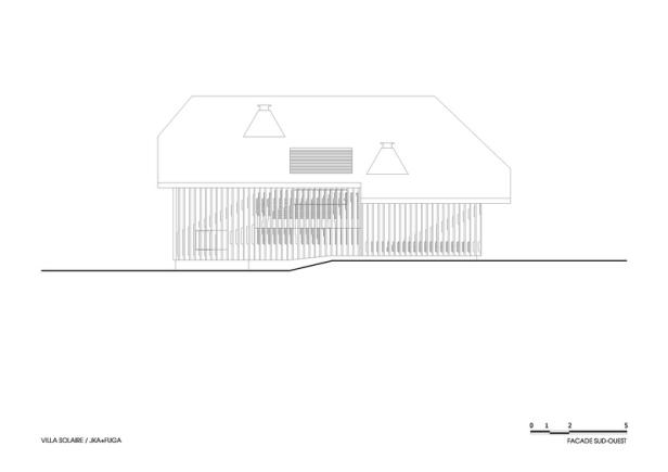 Villa Solaire by Jérémie Koempgen Architectects (JKA) + FUGA 030