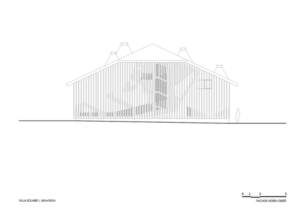 Villa Solaire by Jérémie Koempgen Architectects (JKA) + FUGA 031