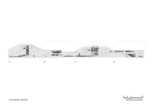 Villa Solaire by Jérémie Koempgen Architectects (JKA) + FUGA 032