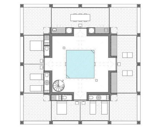 pezo von ellrichshausen architects  solo houses 10