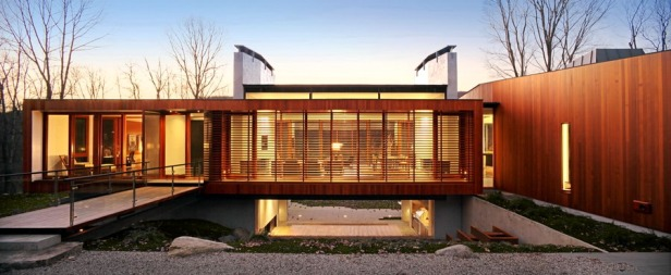 Bridge House by Joeb Moore + Partners Architects 01