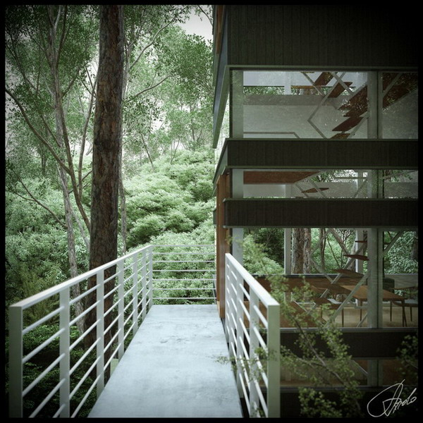 house-balcony-forest