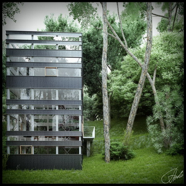 house-glass-forest