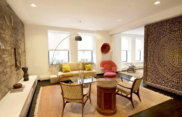 phong khach nho dep - small living room 01