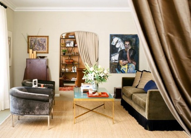 phong khach nho dep - small living room 015