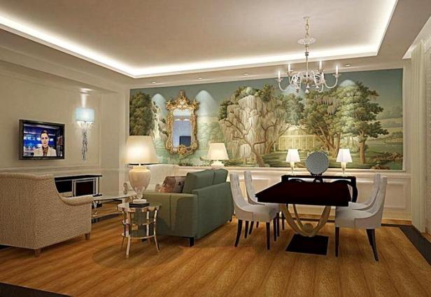 phong khach nho dep - small living room 023