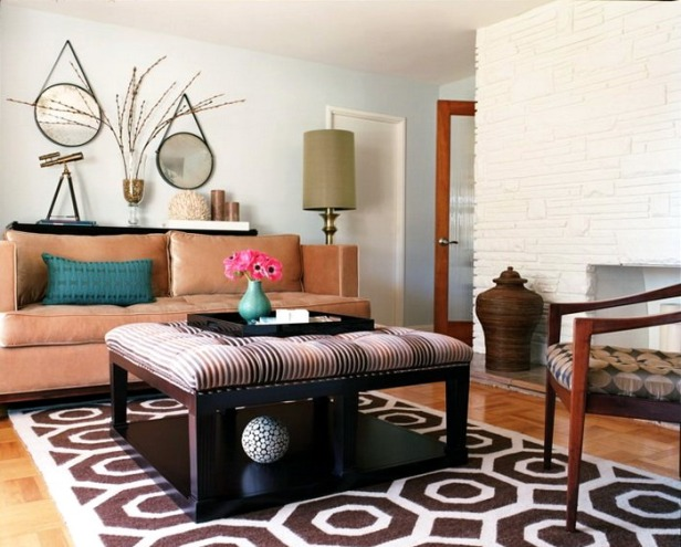 phong khach nho dep - small living room 032