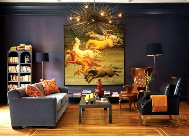 phong khach nho dep - small living room 034