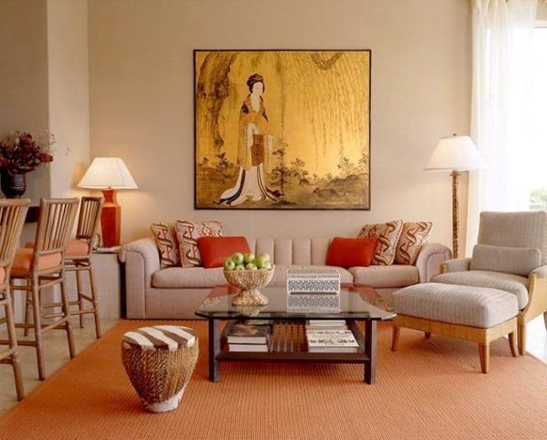 phong khach nho dep - small living room 035