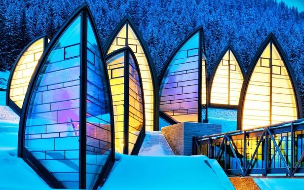 Tschuggen Bergoase Hotel _ Mario Botta Architetto _ 01
