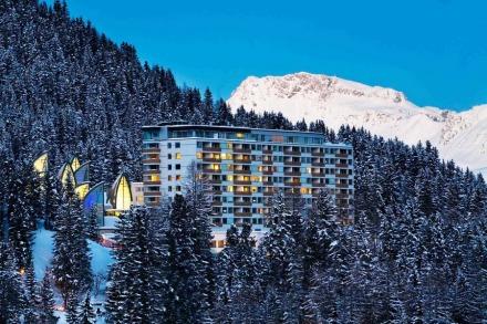 Tschuggen Bergoase Hotel _ Mario Botta Architetto _ 05