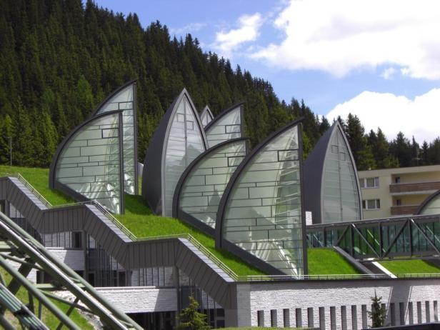 Tschuggen Bergoase Hotel _ Mario Botta Architetto _ 07