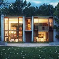[Concept] Esherick House   Nhà ở Philadelphia, Pennsylvania, Mỹ - Louis Kahn