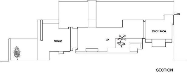 Gable House _ FORM _ Kouichi Kimura _ 032 section