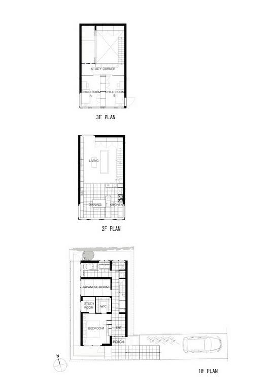 RAY House  Apollo Architects & Associates PLAN