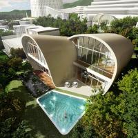 [Concept] Moebius House / Nhà ở đảo Jeju, Hàn Quốc - Planning Korea