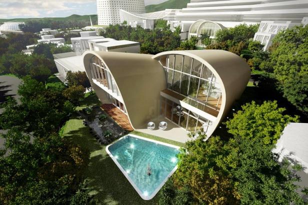 the moebius house on jeju island by planning korea 01