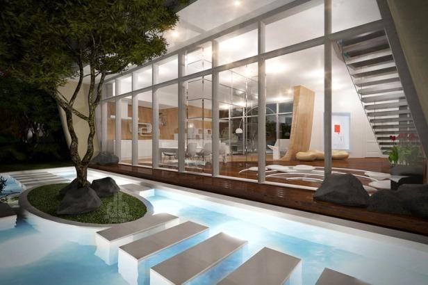 the moebius house on jeju island by planning korea 06