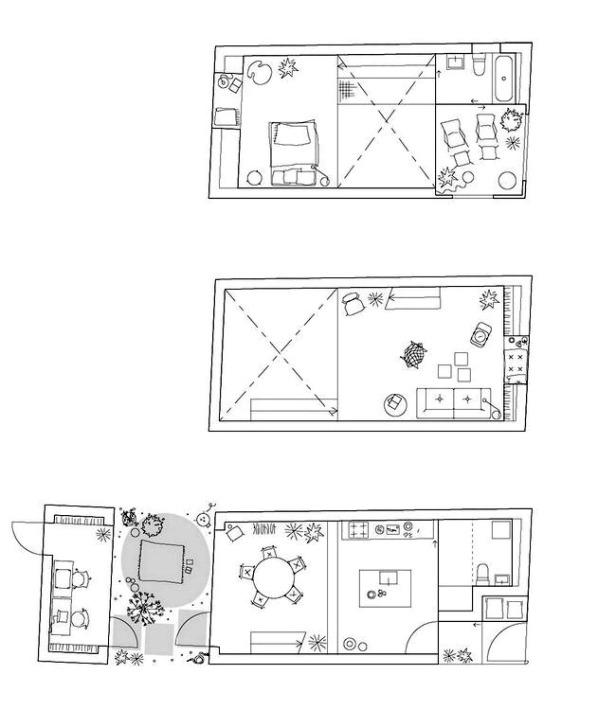 Townhouse by Elding Oscarson 22-floor-plans