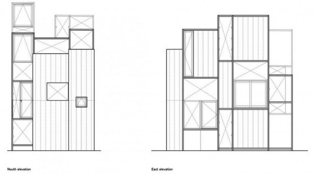 House NA plan - section - elevation 04