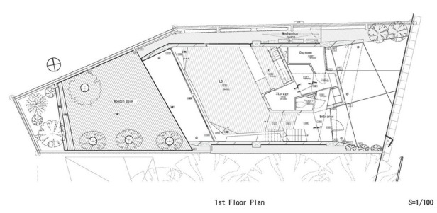 Rosie House - ARTechnic architects plan_first_floor_plan