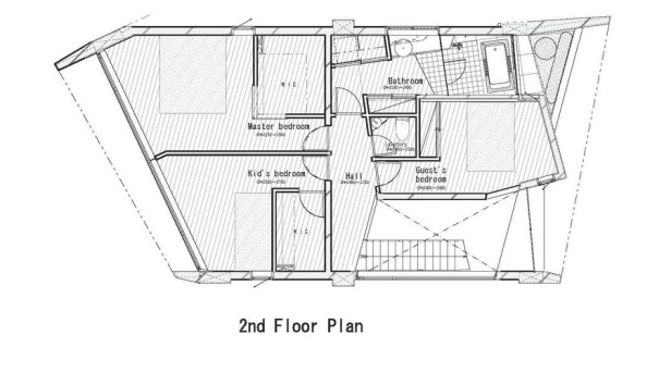 Rosie House - ARTechnic architects plan_second_floor_plan