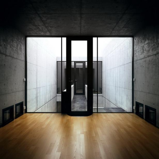 Azuma House Japan by Tadao Ando 10-3