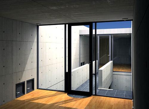 Azuma House Japan by Tadao Ando 10
