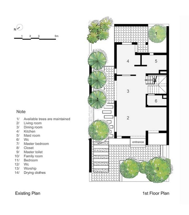 epv-house-ahl-architects-associates_existing_plan_-_first_floor_plan