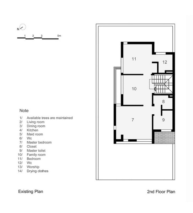 epv-house-ahl-architects-associates_existing_plan_-_second_floor_plan