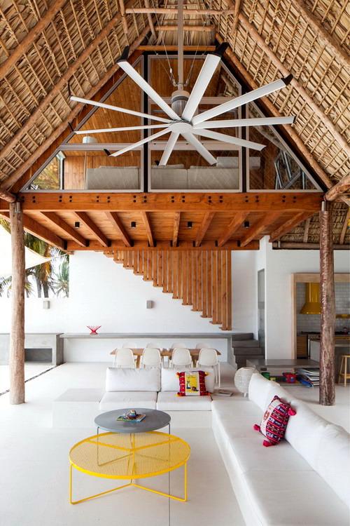 Architecture-Modern-Casa-Azul-El-Salvador-Big-Ass-Fan-4