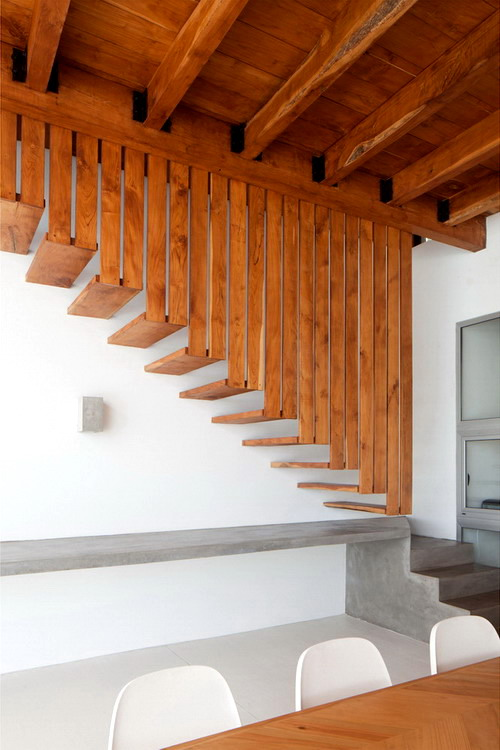 Architecture-Modern-Casa-Azul-El-Salvador-Stairs-6