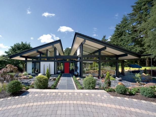 bungalow house nh c huf haus ki n tr c nh ng i. Black Bedroom Furniture Sets. Home Design Ideas