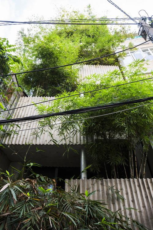Bamboo House | Nhà ở Quận 1, Sài Gòn – VTN Architects
